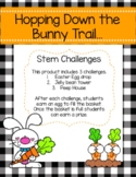 Hopping Down The Bunny Trail STEM Challenges