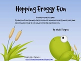 Hopping Froggy Fun--Addition Game