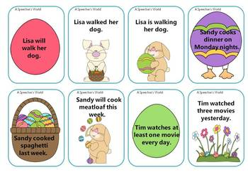 Hopping Grammar Verb Tenses