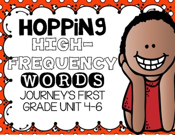 Hopping High Frequency Words Journey's First Grade Units 4