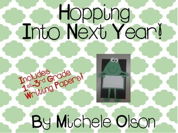 Hopping Into Next Year!! Cute End Of The Year Craft!