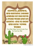Hopping, Jumping, and Running:  A Word Work Unit On Adding -Ing