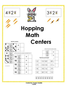 Hopping Math Centers
