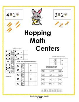 Hopping Math Centers