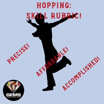 Hopping!  Skill Assessment Rubric