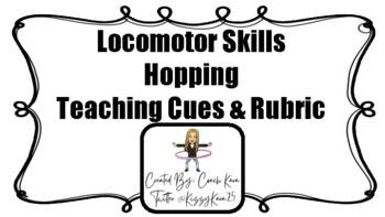Hopping Skills Rubric (GPE & APE)