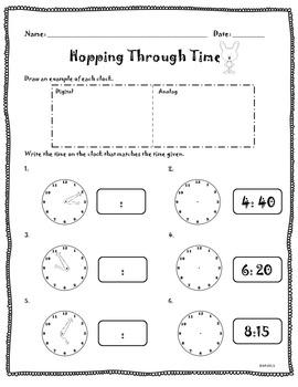 Hopping Through Time Clocks