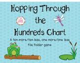 Hopping Through the Hundreds Chart File Folder Game (Ten M