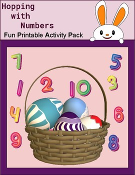Hopping With Numbers Activity Pack