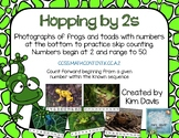 Hopping by 2s Skip Counting Puzzles 2-50