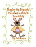 Hopping for Digraphs - An Easter Write the Room or Word Sort Activity