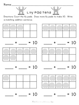 Kindergarten Common Core Math: Numbers 1-20, Counting, Addition, and Subtraction