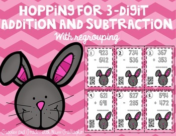 3-Digit Addition and Subtraction- Hopping