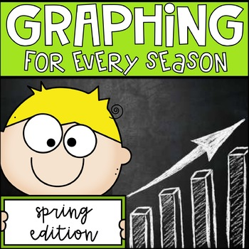 Spring Graphing Unit for 2nd Grade Common Core Math