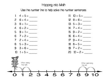 Hopping into Math