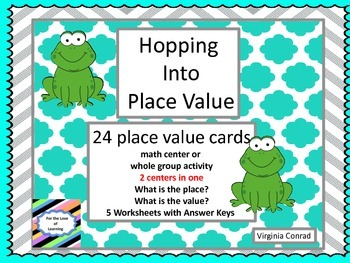 Place Value with Frogs