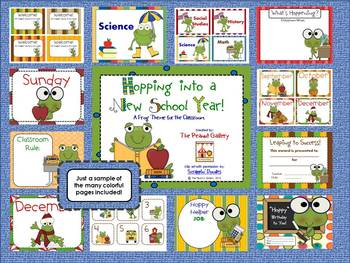 Hopping into a New School Year: Frog Theme Classroom Pack
