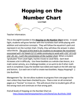 Hopping on the Number Chart: Level 8
