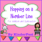 Hopping on the Number Line - FREEBIE