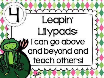 Hopping to New Heights {Fun classroom Marzano Scales}