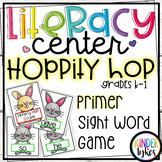 Hoppity Hop Sight Word Game for First Grade (Primer)