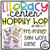 Hoppity Hop Sight Word Game for Kindergarten (Pre-primer)