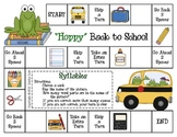 """Hoppy"" Back to School--Syllables Game"