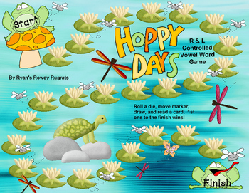Hoppy Days!  A Game with R & L Controlled Vowels!