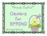 Hoppy Easter Centers for Kinders!
