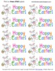 Hoppy Easter Labels for Class Treats