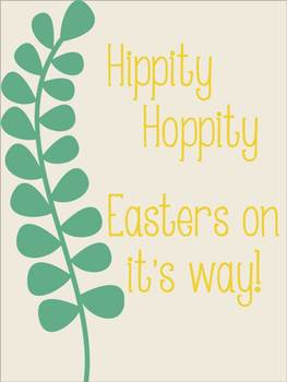 Easter Posters Freebie {For Home or Classroom Decoration}