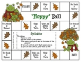 """Hoppy"" Fall--Syllables Game"