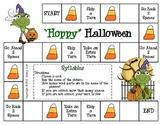 """""""Hoppy"""" Halloween--Syllables Game"""