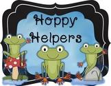 Hoppy Helpers Frog Job Chart (Editable)