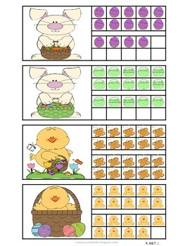 Easter Math Time