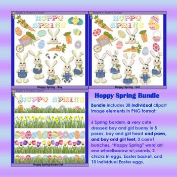 Hoppy Spring Bunny Set