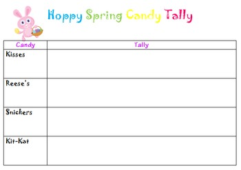 Hoppy Spring Math Activities