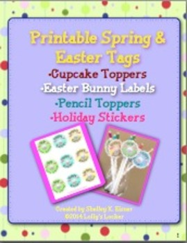 Hoppy Spring Tags