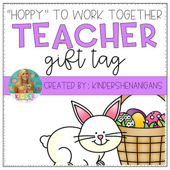 Easter Staff Appreciation Tags