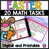 Easter Math 3rd Grade Task Card Activities
