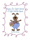 Hoppy for Sight Words - A Fun Easter Themed Sight Word Game