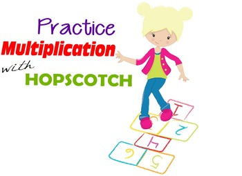 Hopscotch Multiplication Game (for individual math practic