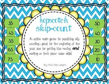 Hopscotch Skip-Count