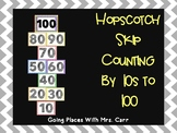 Hopscotch Skip Counting by 10s