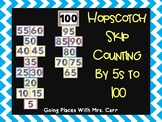 Hopscotch Skip Counting by 5s