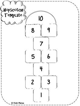 FREEBIE - Hopscotch Templates