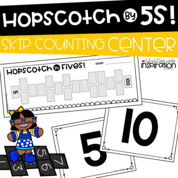 Hopscotch by 5s! Math Center by Education and Inspiration