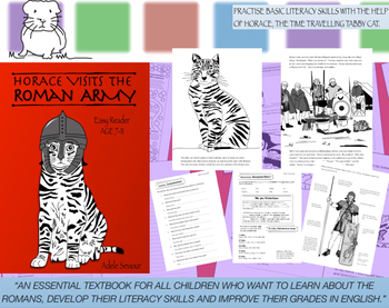 Horace Visits The Roman Army Pack (Easy Reader) 7-11 years