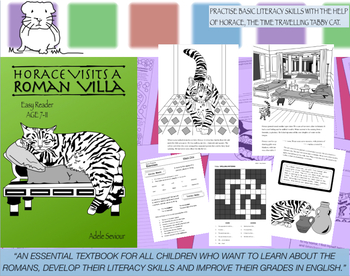 Horace Visits A Roman Villa Pack (Easy Reader) 7-11 years