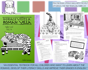 Horace Visits A Roman Villa Pack (Higher Level) 7-11 years